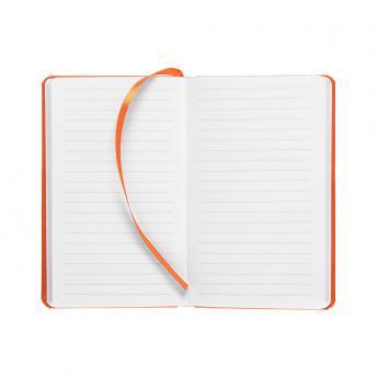 Записная книжка Latte в линейку 10 x 16 см - Оранжевый OO