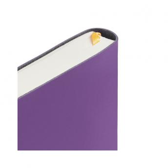 Ежедневник Flex Shall датированный 15 x 21 см - Фиолетовый UU