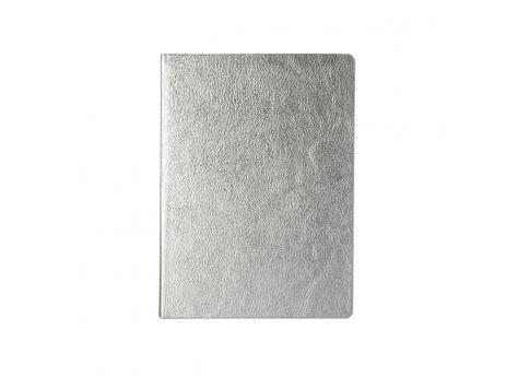 Записная книжка Ingot в линейку 15.5 x 21 см - Серебро DD
