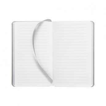 Записная книжка Latte в линейку 10 x 16 см - Серый CC