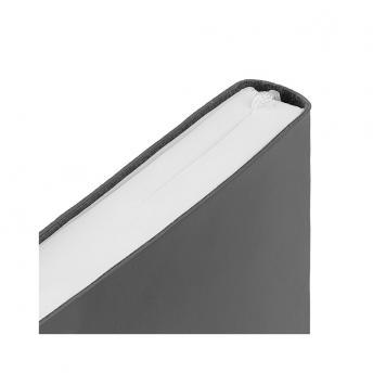 Ежедневник Flex New Brand недатированный 15 x 21 см - Темно-Серый EE