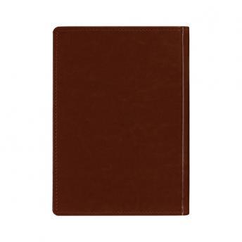Ежедневник New Nebraska датированный 15 x 21 см - Коричневый RR