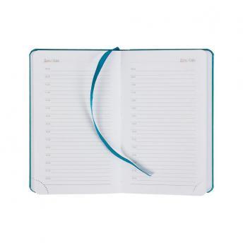 Ежедневник Basis mini недатированный 10 x 16 см - Морской волны II
