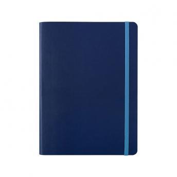 Записная книжка BiColor в линейку / клетку 15.5 x 21 см - Синий HH