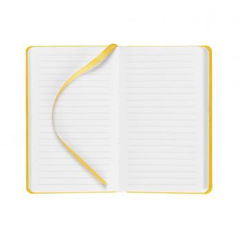 Записная книжка Latte в линейку 10 x 16 см - Желтый KK