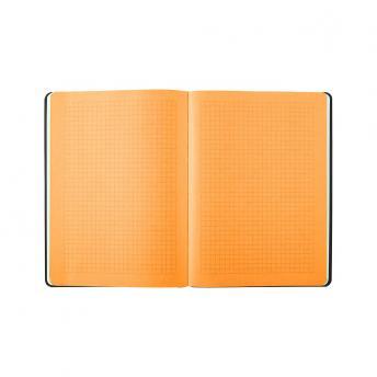 Записная книжка BiColor в линейку / клетку 15.5 x 21 см - Темно-Серый EE