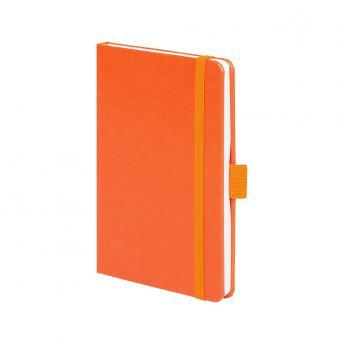 Записная книжка Freenote в линейку 10.5 x 16 см - Оранжевый OO