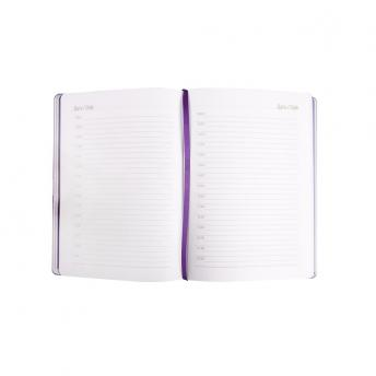 Ежедневник Freenote недатированный 15 x 21 см - Фиолетовый UU