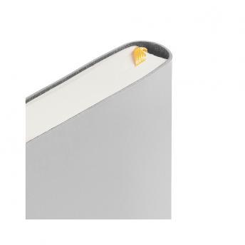 Ежедневник Flex Shall датированный 15 x 21 см - Серый CC