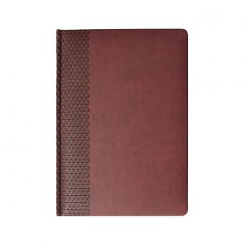 Ежедневник Brand недатированный 15 x 21 см - Бордовый QQ