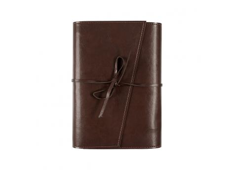 Ежедневник Strap недатированный 15 x 21 см - Темно-коричневый ZZ