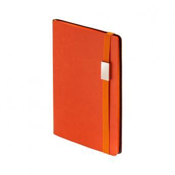 Ежедневник MyDay недатированный 13 x 21 см - Оранжевый OO