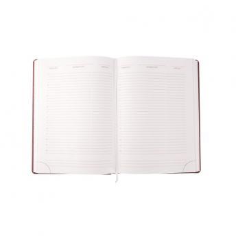 Ежедневник Nebraska недатированный 15 x 21 см - Бордовый QQ