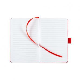 Записная книжка Freenote в линейку 10.5 x 16 см - Красный PP