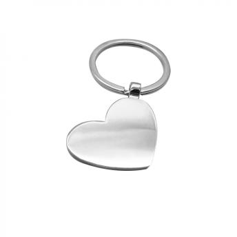 Брелок металлический Сердце