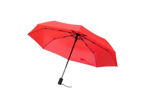 Автоматический противоштормовой зонт Vortex - Красный PP