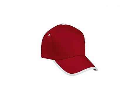 Бейсболка COMBI - Красный PP