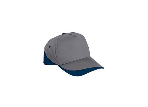 Бейсболка FORT (серая) - Темно-синий XX