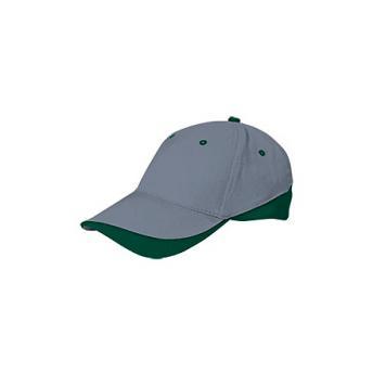 Бейсболка TUXTON (цветная) - Серый CC