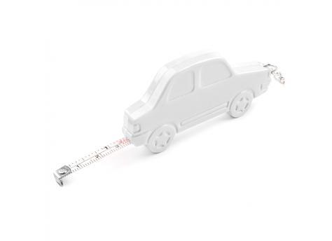 Брелок-рулетка Автомобиль - Белый BB