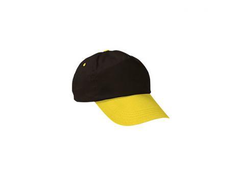 Бейсболка PROMOTION (двухцветная) - Черный AA