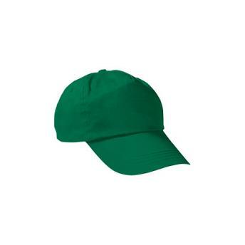 Бейсболка PROMOTION (однотонная) - Зеленый FF