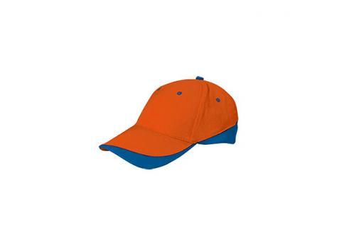 Бейсболка TUXTON (цветная) - Оранжевый OO