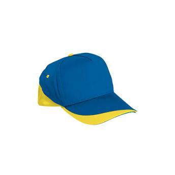 Бейсболка FORT (цветная) - Синий HH