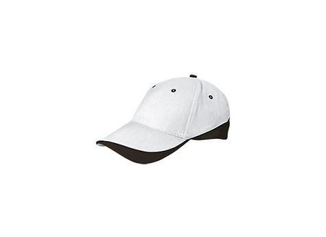 Бейсболка TUXTON (белая) - Черный AA