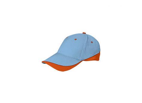 Бейсболка TUXTON (цветная) - Голубой JJ