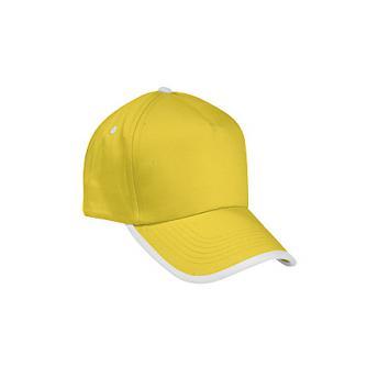 Бейсболка COMBI - Желтый KK