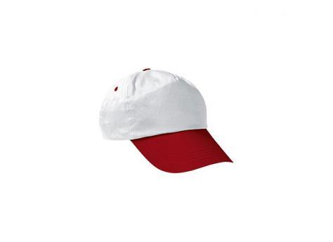 Бейсболка PROMOTION (двухцветная) - Красный PP