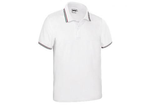 Cпортивная рубашка поло MAASTRICHT (белая)