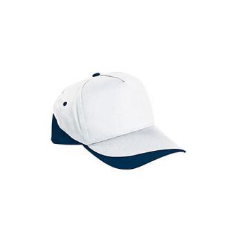 Бейсболка FORT (белая) - Темно-синий XX