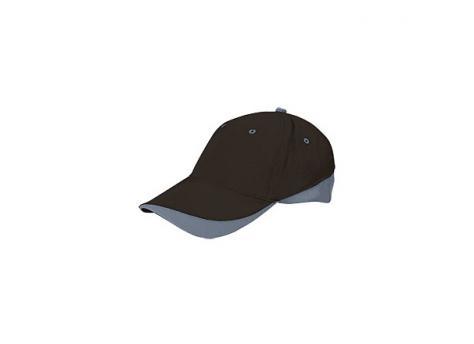Бейсболка TUXTON (цветная) - Черный AA