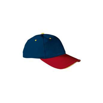 Бейсболка SANDWICH (доп. цвета) - Красный PP