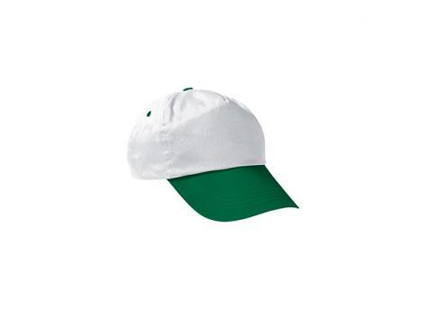 Бейсболка PROMOTION (двухцветная) - Зеленый FF