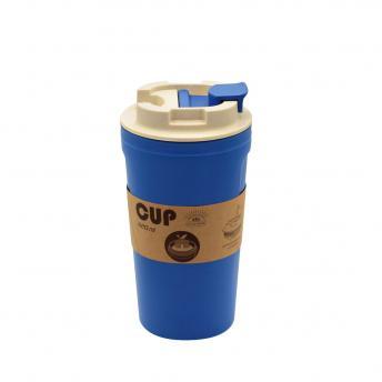 Бутылка для воды Eco water из бамбукового волокна - Синий HH