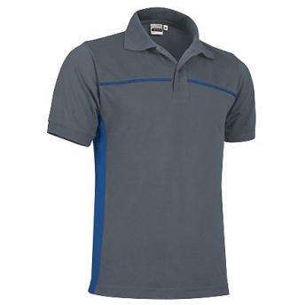 Cпортивная рубашка поло THUNDER (серая)