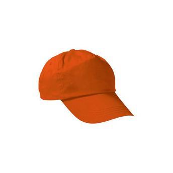 Бейсболка PROMOTION (однотонная) - Оранжевый OO