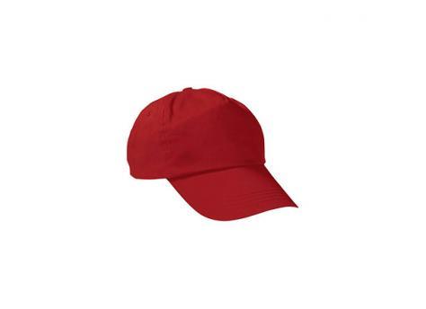 Бейсболка PROMOTION (однотонная) - Красный PP