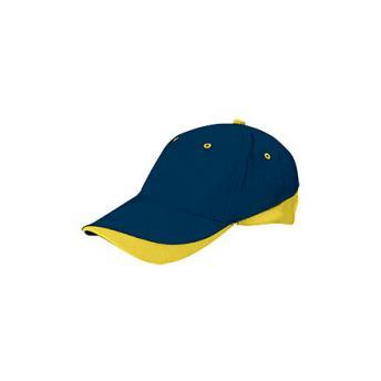 Бейсболка TUXTON (цветная) - Темно-синий XX