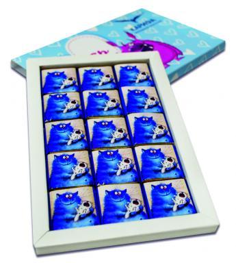 Шоколадный набор «Синди» 15 шоколадок