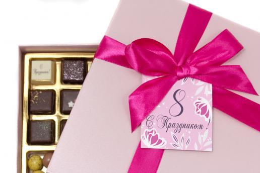 Большой набор вкусных конфет с драже