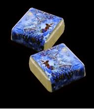 Конфета  с вкусной начинкой в брендированной упаковке