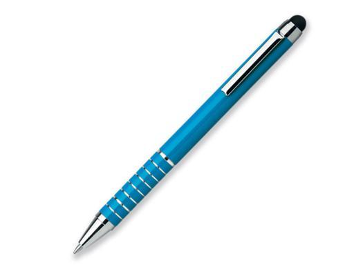 Ручка шариковая, металл, голубой Shorty артикул 12532-20
