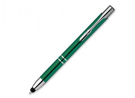 Ручка шариковая, металл, зеленый Oleg Touch артикул 12509-40