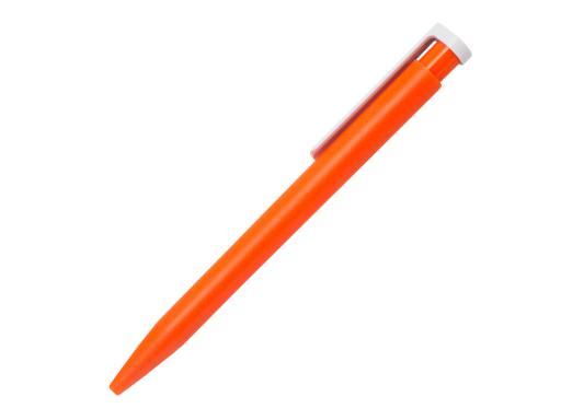 Ручка шариковая Stanley, пластик, оранжевый/белый артикул 201132-B/OR