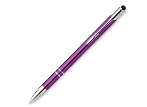 Ручка шариковая, металл, фиолетовый Oleg Slim артикул 12574-74