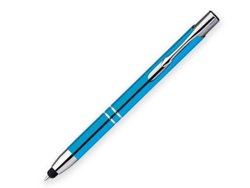 Ручка шариковая, металл, бирюзовый Oleg Touch артикул 12509-49